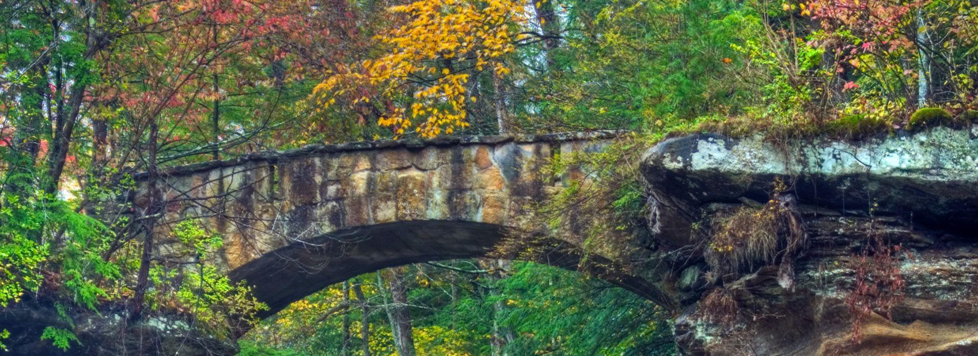 Attractions in Hocking Hills