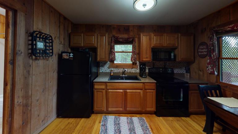 Hocking Hills Cabins Honeymoon Kitchen