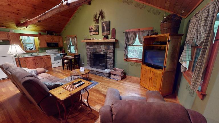 Hocking Hills Cabins Sweet Seclusion tv