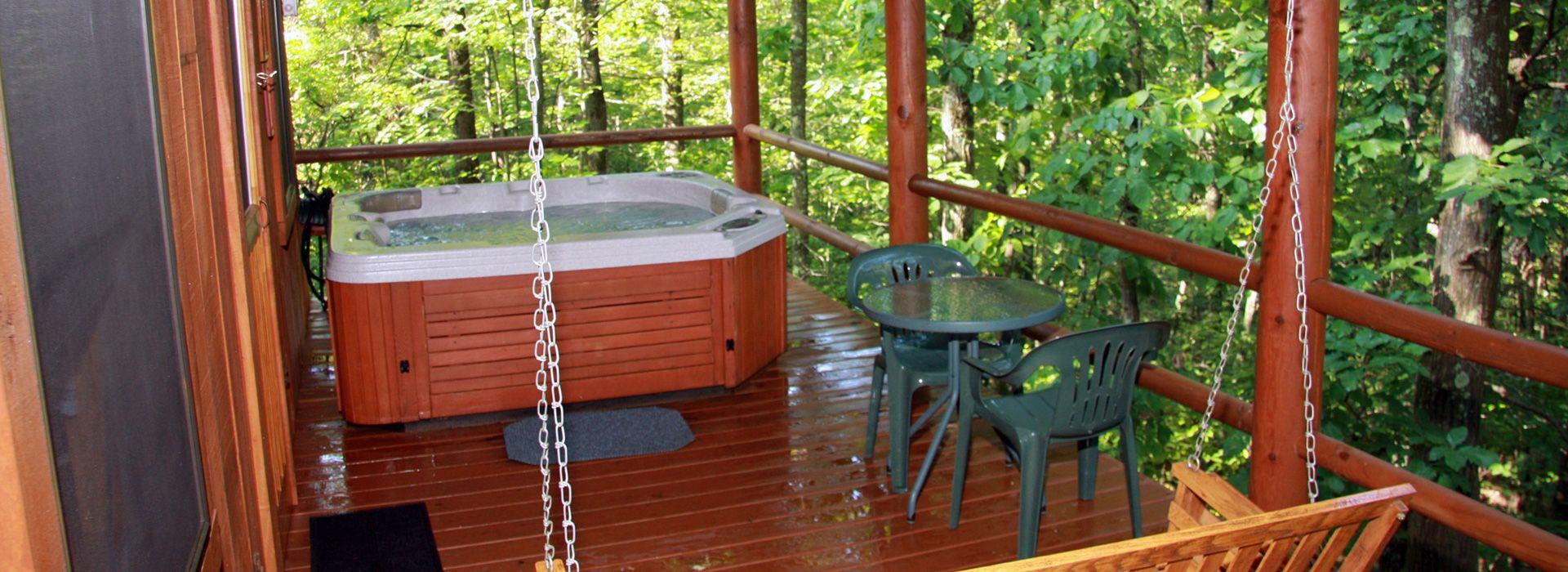 Spa Packages Hocking Hills Cabins