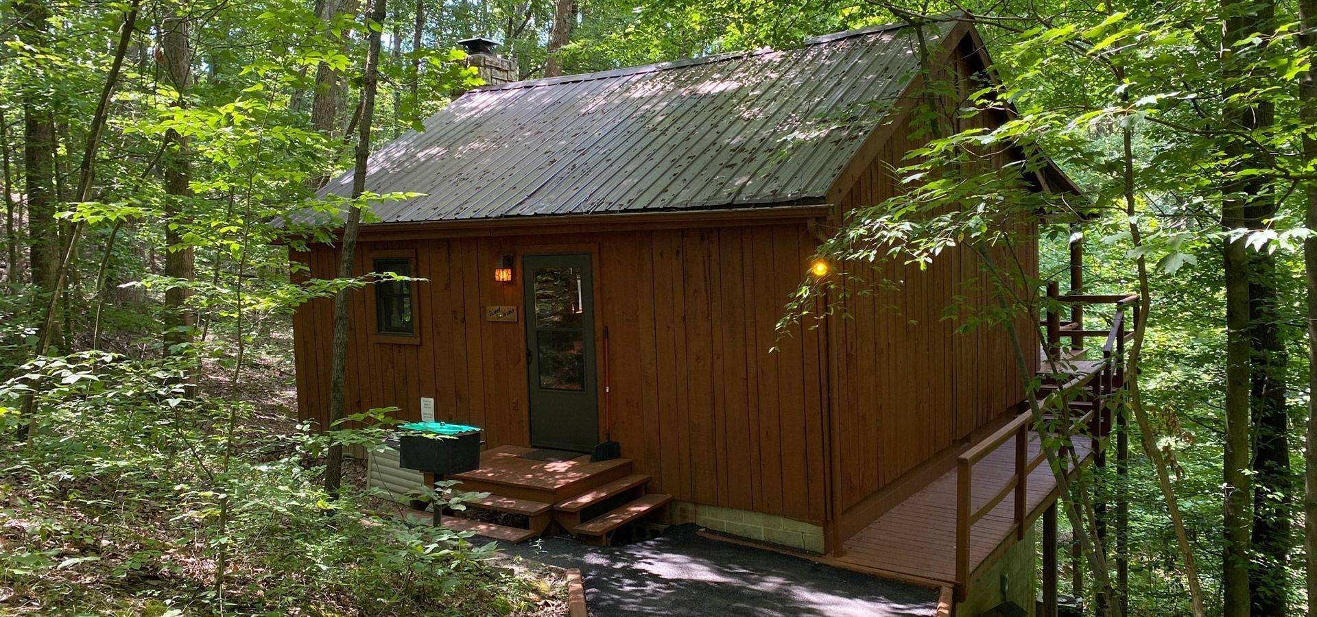 Sweet Seclusion Cabin Slider